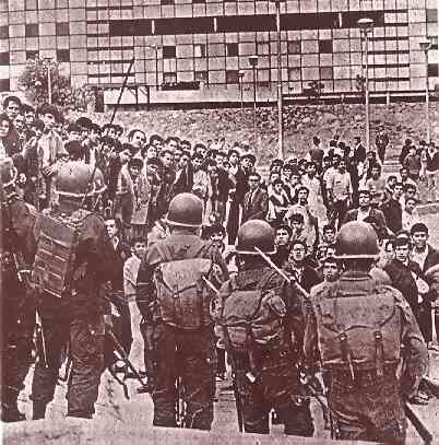 the tlatelolco massacre in mexico essay Elena poniatowska criticism - essay translated as massacre in mexico] in la noche de tlatelolco, she journeys to the alternate pole of political possibility.