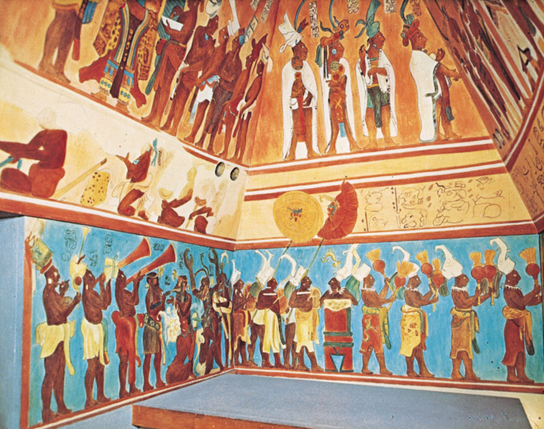 Bonampak murals for Bonampak mural painting